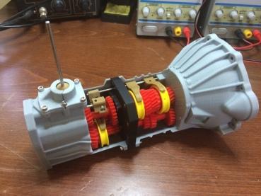 3d printed transmission