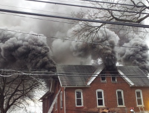 Smoky Housefire
