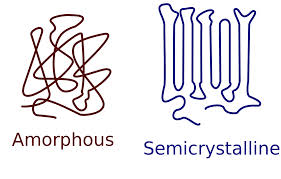 Amorphus vs semicrystaline