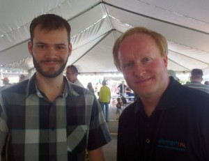Ben Heck and Michael Graham