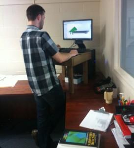 Wooden Standing Desk