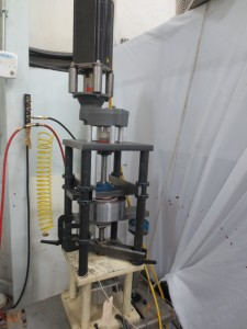 Accutek Custom Bearing Testing Fixture