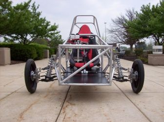 Chassis front view