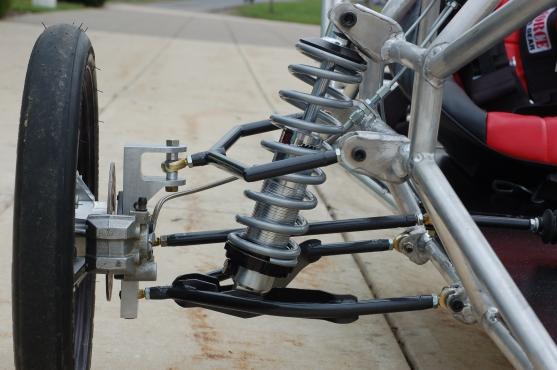 College Solar Car Suspension