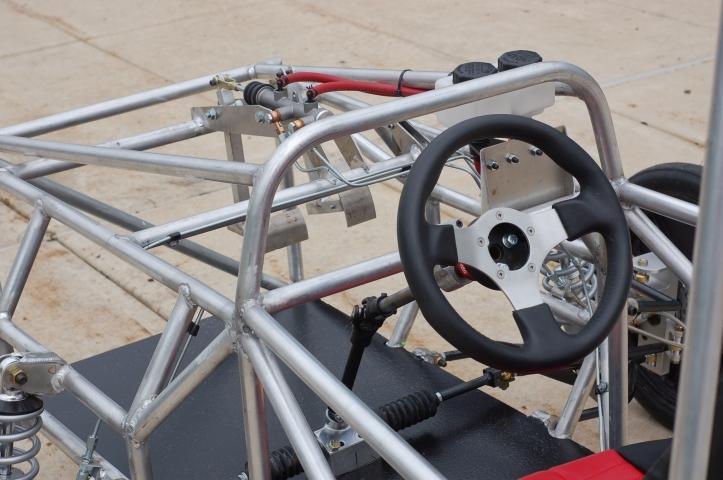 College Solar Car Steering