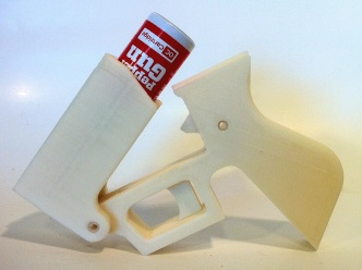3D Printed Pepper Spray Gun