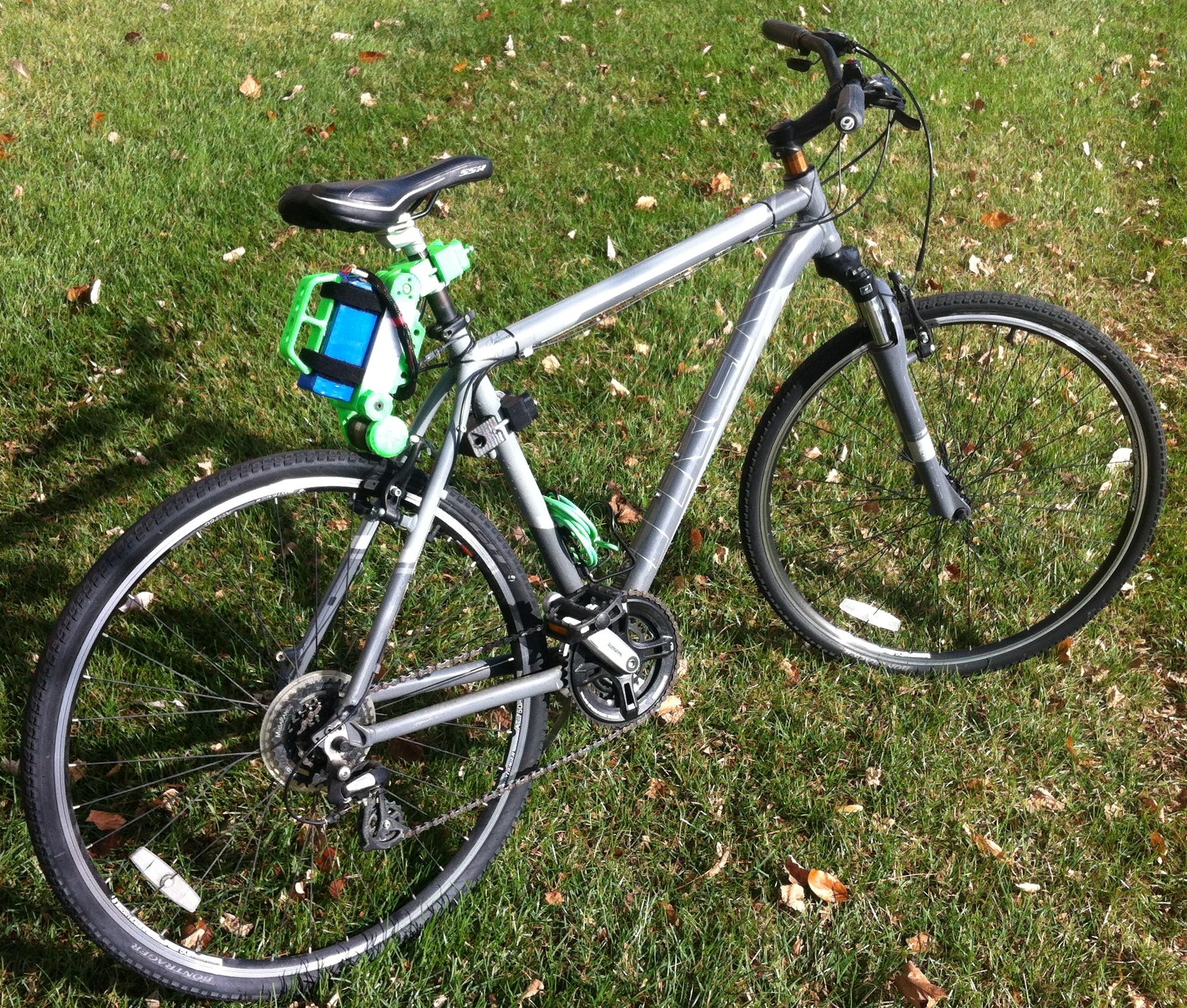 Electric Motor Kits For Push Bikes: The 'Bicycle BoosterPack' Kit: A New Ultralight Portable