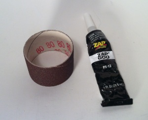 Sandpaper Glue