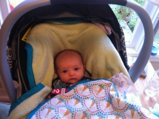 babys concern is evident