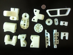 Full Standard 3D printed BoosterPack Parts