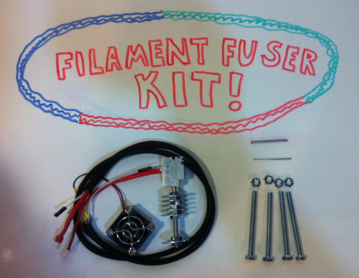 Filament Fuser Electronics & Hardware Kit