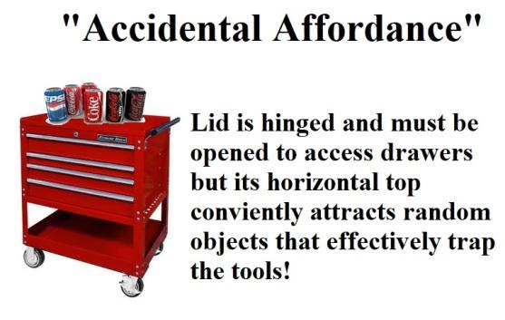 Accidental affordance